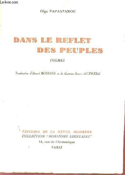 DANS LE REFLET DES PEUPLES - POEMES / COLLECTION
