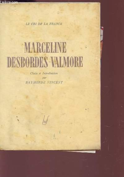 MARCELINE DESBORDES-VALMORE.