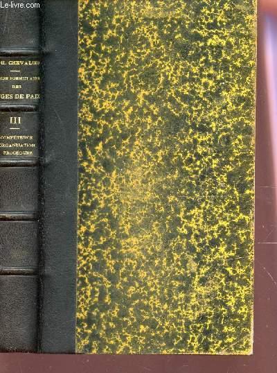 GUIDE FORMULAIRE DES JUGES DE PAIX ET DE LEURS ATTRIBUTIONS GRACIEUSES ET CONTENTIEUSES / MANUEL THEORIQUE ET  PRATIQUE  / TOME III / 4e EDITION.
