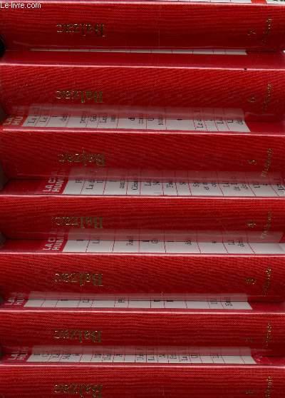 LA COMEDIE HUMAINE - L'INTEGRALE - EN 7 VOLUMES (DU TOME I AU TOME 7 INCLUS) - COMPLET.