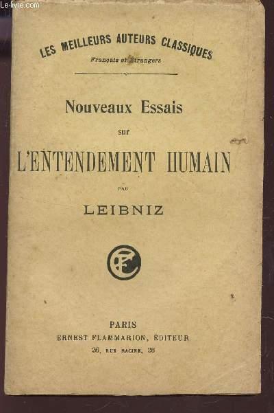 NOUVEAUX ESSAIS SUR L'ENTENDEMENT HUMAIN / COLLECTION