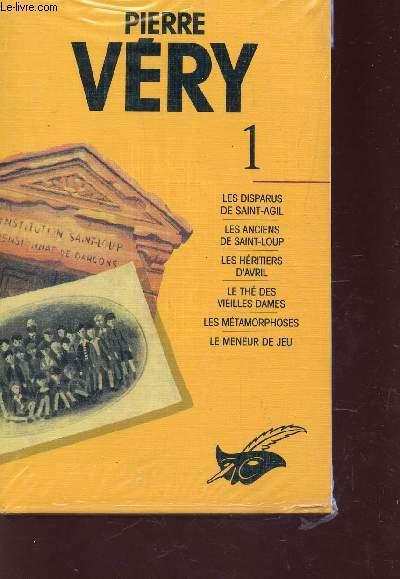 VOLUME 1 : LES DISPARUS DE SAINT AGIL - LES ANCIENS DE SAINT LOUP - LES HERITIERS D'AVRIL - LE THE DES VIEILLES DAMES - LES METAMORPHOSES - LE MENEUR DE JEU.