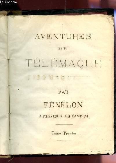 AVENTURES DE TELEMAQUE - EN 2 VOLUMES  / EDITION XVIIIe SIECLE.
