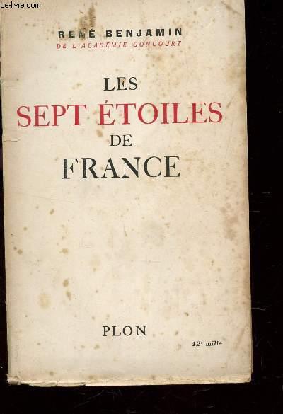 LES SEPT ETOILES DE FRANCE .