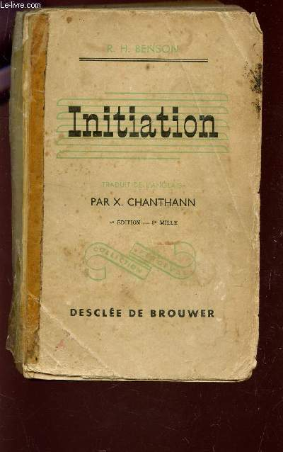 INITIATION  / COLLECTION PERCEVAL / 2e EDITION.