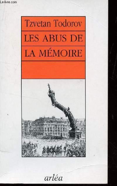 LES ABUS DE LA MEMOIRE.