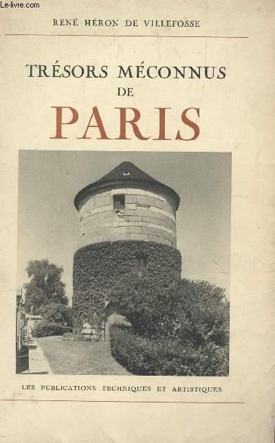 TRESORS MECONNUS DE PARIS.