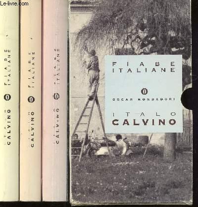 FIABE ITALIANE  / EN 3 VOLUMES : OSCAR MONDADORI.