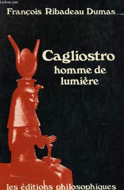 CAGLIOSTRO HMME DE LUMIERE.
