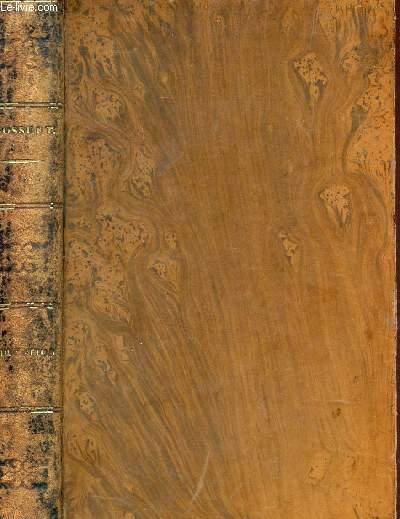 DISCOURS SUR L'HISTOIRE UNIVERSELLE -  VOLUME I - TOME XIV / OEUVRES COMPLETES DE BOSSUET.