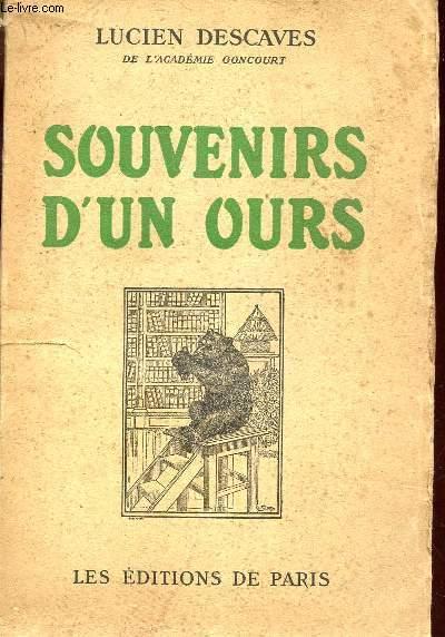 SOUVENIRS D'UN OURS.