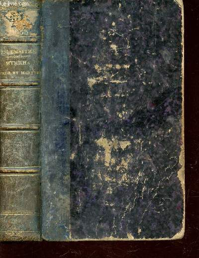 MYRRHA - VIERGE ET MARTYRE / COLLECTION NOUVELLE BIBLIOTHEQUE VARIEE / TROISIEME EDITION.