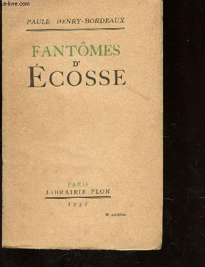 FANTOMES D'ECOSSE / 3e EDITION.