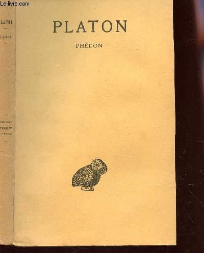 PHEDON / TOME IV - 1ere PATIE.