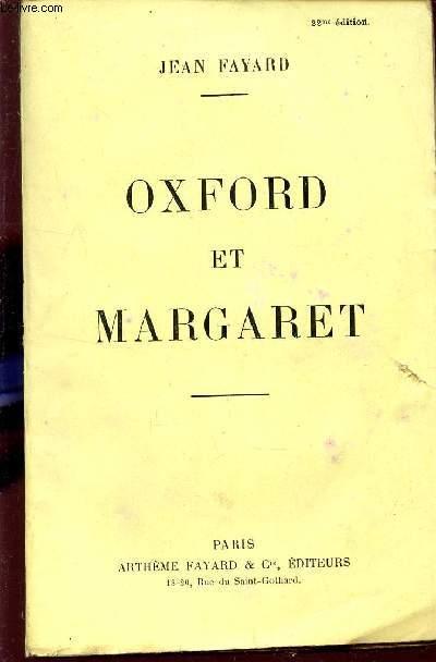 OXFORD ET MARGARET.
