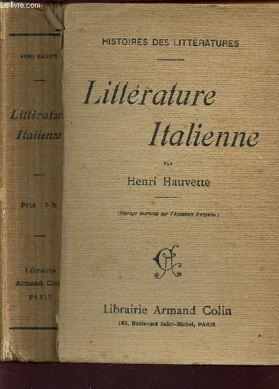 LITTERATURE ITALIENNE / COLLECTION