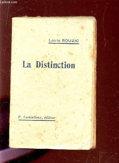 LA DISTINCTION.