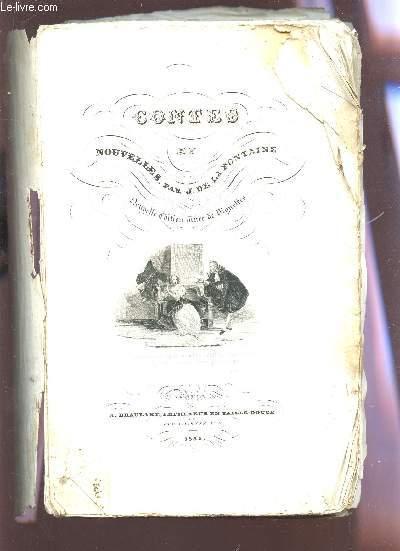 OEUVRES COMPLETES DE LA FONTAINE / NOUVELLE EDITION ORNEE DE GRAVURES D'APRES LES DESSINS DE M. CHAMPION ETC...