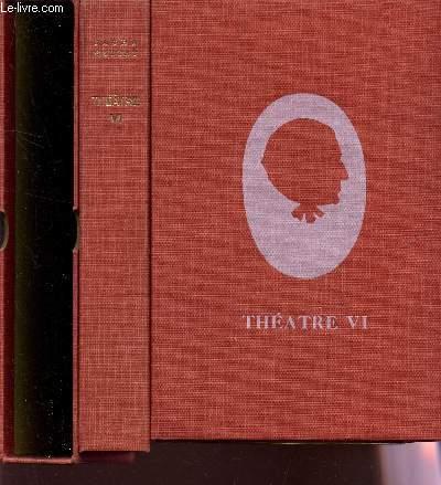 THEATRE - TOME VI / LE COMEDIEN - UN SUJET DE ROMAN - PASTEUR  / EDITION ORIGINALE.