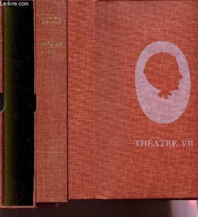 THEATRE - TOME VIII / JEAN DE LA FONTAINE - LE BIEN AIME - LE MOT DE CAMBRONNE  / EDITION ORIGINALE.