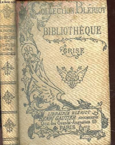LES SOULIERS DE LA COMTESSE LORA / COLLECTION BLERIOT - BIBLIOTHEQUE GRISE.