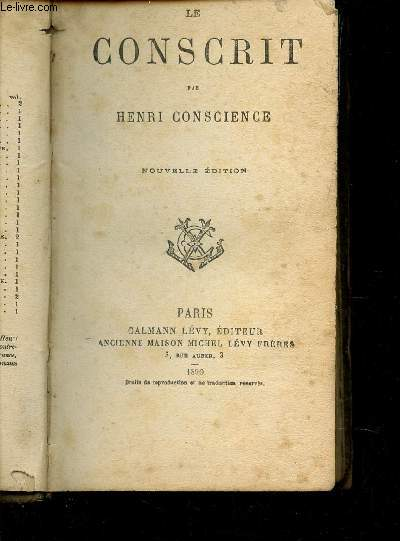 LE CONSCRIT / NOUVELLE EDITION.