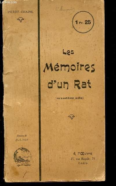 LES MEMOIRES D'UN RAT.