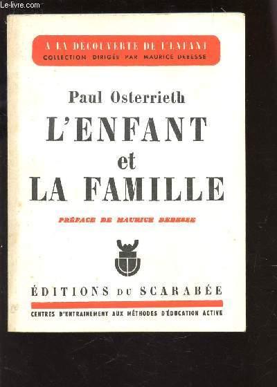 L'ENFANT ET LA FAMILLE / COLLECTION