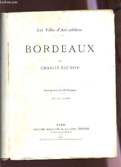 BORDEAUX / COLLECTION 3LES VILLES D'ART CELEBRES