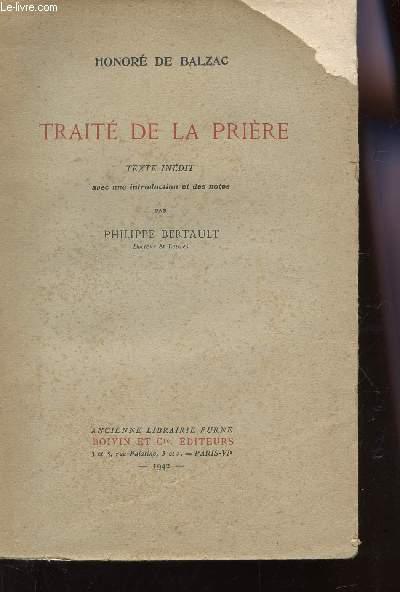 TRAITE DE LA PRIERE.