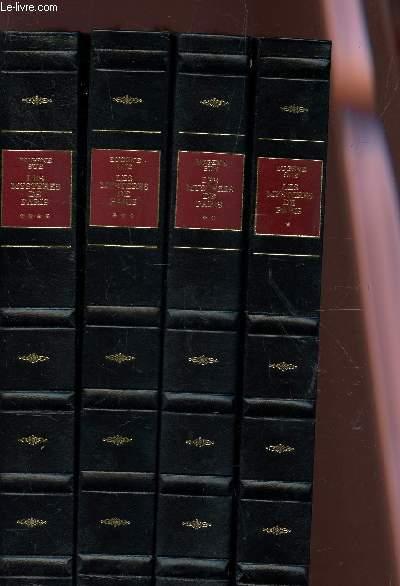 LES MYSTERES DE PARIS - EN 4 VOLUMES : DU TOME I AU TOME IV - COMPLET.