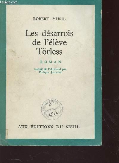 LES DESARROIS DE L'ELEVE TORLESS.