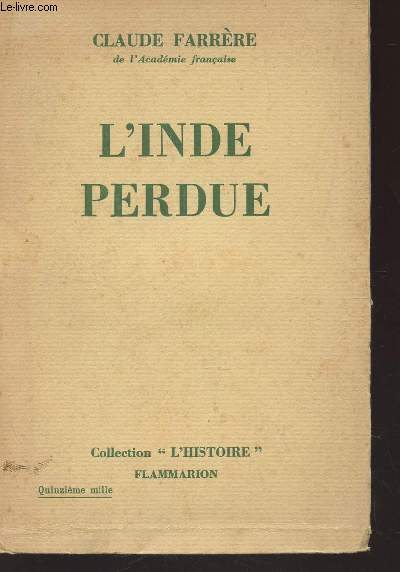 L'INDE PERDUE / COLLELCTION