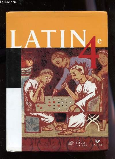 LATIN - CLASSE DE 4e.