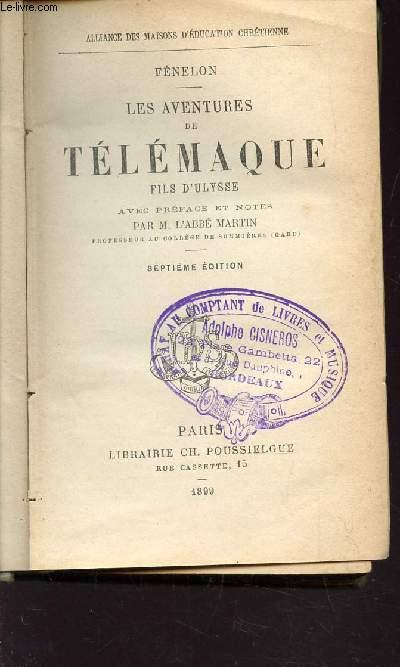 LES AVENTURES DE TELEMAQUE, FILS D'ULYSSE / / 7e EDITION.