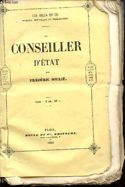 LE CONSEILLER D'ETAT / COLLECTION