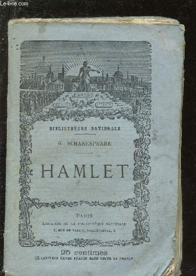 HAMLET / BIBLIOTHEQUE NATIONALE.