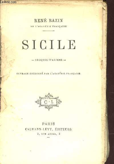 SICILE - CROQUIS ITALIENS.