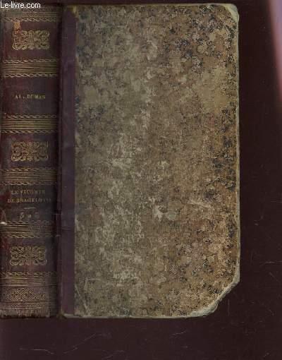 LE VICOMTE DE BRAGELONNE - 1 VOLUMES : TOMES 5 ET 6.
