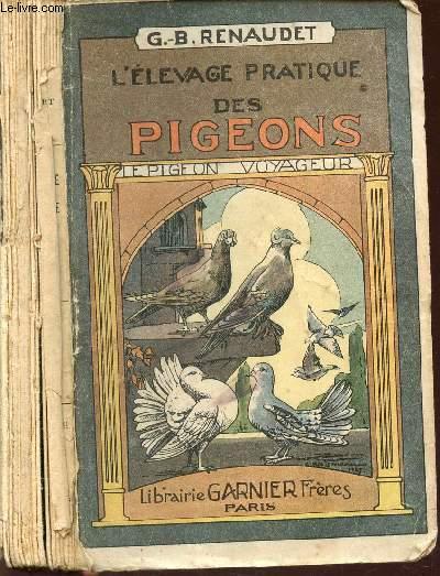 L'ELEVAGE PRATIQUE DES PIGEONS - A LA VOLIERE DE LA MAISON NOURGEOISE / LE PIGEON VOYAGEUR.