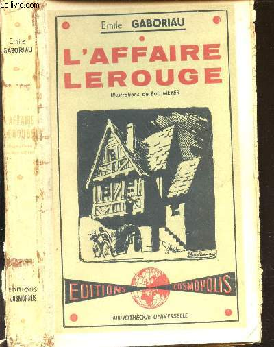 L'AFFAIRE ROUGE / BIBLIOTHEQUEE UNIVERSELLE.