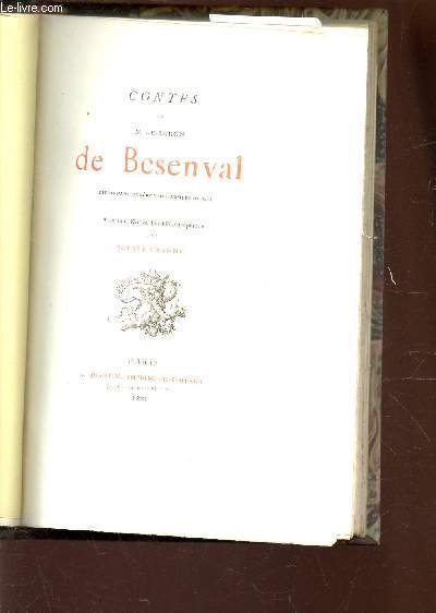 CONTES DE M. LE BARON DE BESENVAL, LIEUTENANT GENERAL DES ARMEES DU ROI.