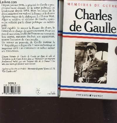 MEMOIRES D'ESPOIR CHARLES DE GAULLE / EN 4 VOLUMES / L'APPEL 1940-1942 + L'UNITE 1942-1944 + LE SALUT 1944-1946 + LE RENOUVEAU 1958-1962, L'EFFORT 1962.