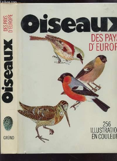 OISEAUX DES PAYS D'EUROPE.