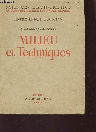 MILIEU ET TECHNIQUES / COLLECTION