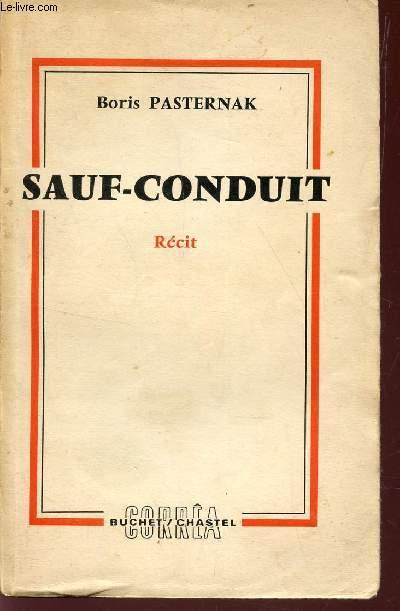 SAUF-CONDUIT  / RECIT.