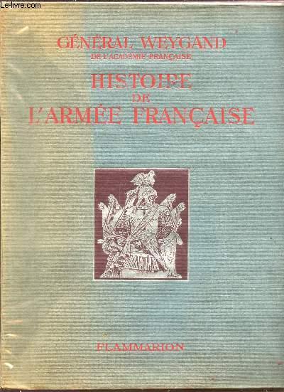 HISTOIRE DE L'ARMEE FRANCAISE.