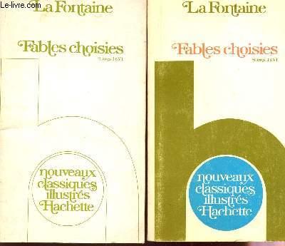 FABLES CHOISIES / LIVRES I A VI / NOUVEAUX CLASSIQUES ILLUSTRES + 1 LIVRET DE