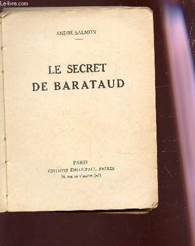 LE SECRET DE BARATAUD.