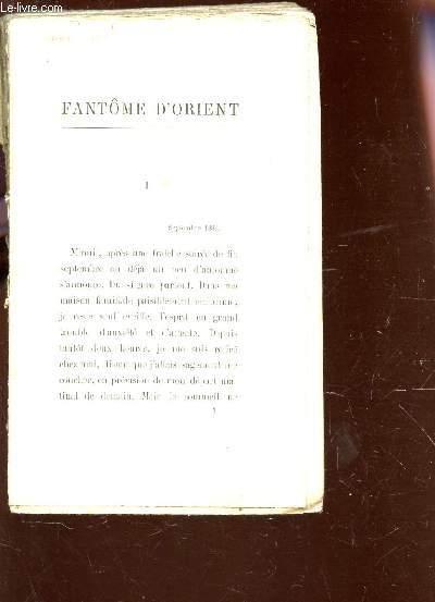 FANTOME D'ORIENT.
